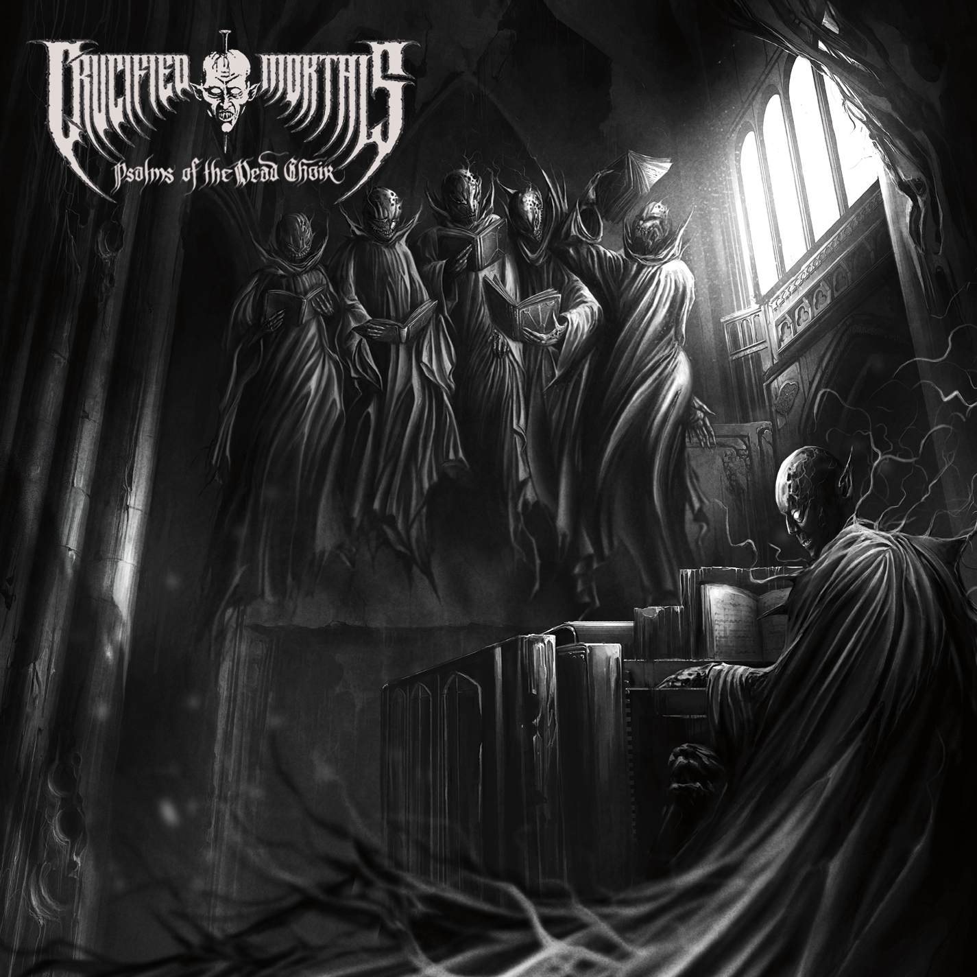 crucified mortals album